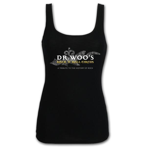 Woo Ladies Tank - Black